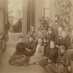 Hegeler Family on Porch