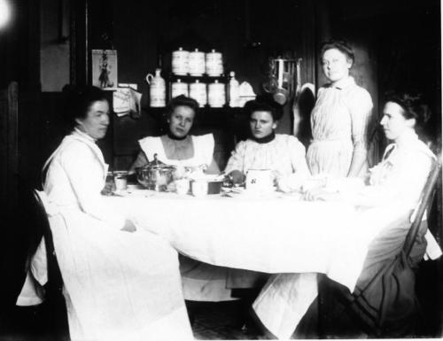 Maids of the Hegeler Carus Mansion